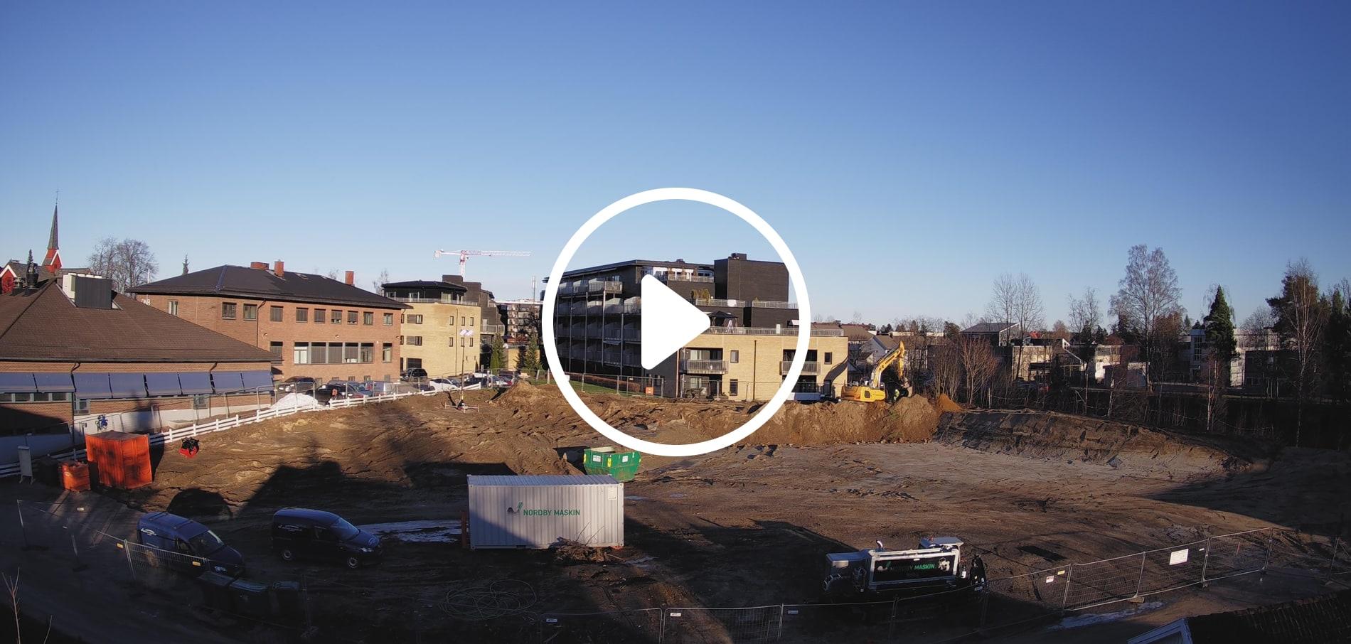 Byggeplasskampera Hagehuset